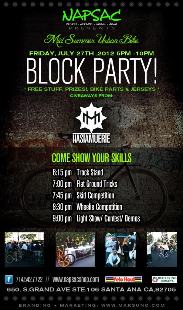 Urban Bike Block Party