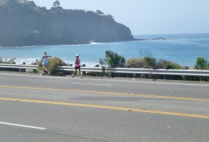 Runners on the Highway