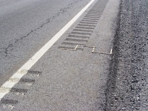 Photo of rumble strips